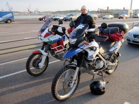 moottoripyörällä norjassa